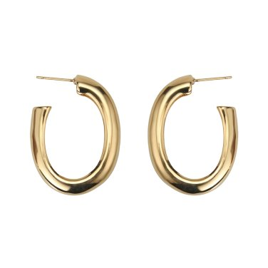 bold long ring earrings