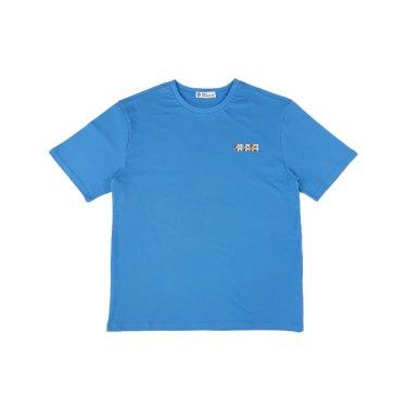[하이레졸루션] 메인 로고 티셔츠 - BLUE