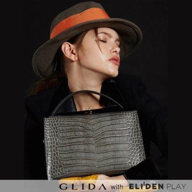 [그리다] GLIDA OPENING Bag (M)-Grey (GOCGR-02)