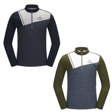 DENGAR (덴가) 남성 집업 티셔츠  / 등산티,긴팔티 (DMU17245)