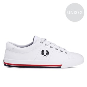 FRED PERRY Underspin Leather 남여공용 스니커즈 SFPU1936143-200