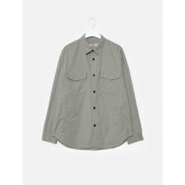 남성 그레이 투 포켓 셔츠형 재킷 (269839DY13)