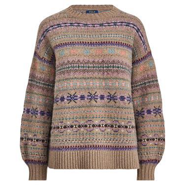 폴로 랄프 로렌 페어 아일 크루넥 스웨터(WMPOSWEN6810220B45)