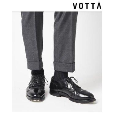 보타- 투톤 남성골지양말 Black/Gray(VOTTA-0103)