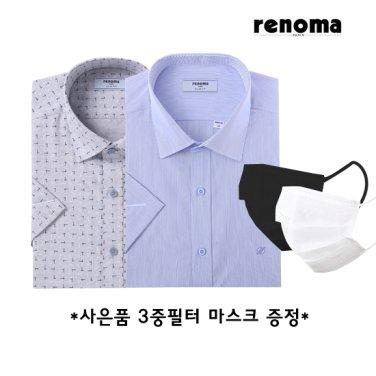 레노마셔츠 반소매 슬림핏4종(사은품증정)