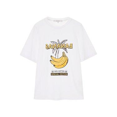 비즈 자수 티셔츠(NW9ME358)