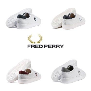 FRED PERRY 남여 공용 스니커즈 SFPU37521-4COL 스펜서 레더