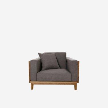 Original Oak Sofa 1Seater