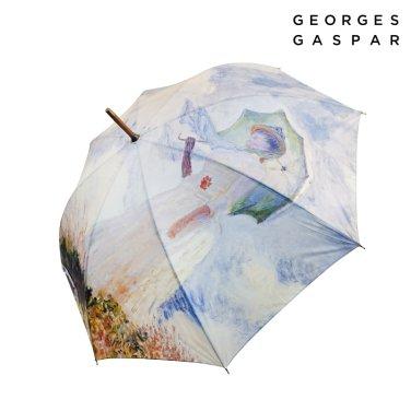 조지가스파 모네 60 양산을 든 여인 장우산 GUGGU10009