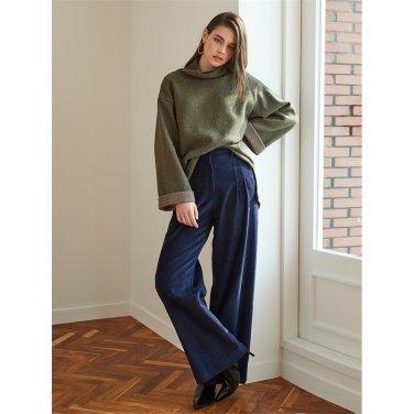 [에프코코로미즈] corduroy wide pants