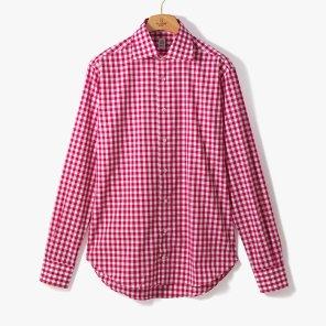 [TBRM]CLASSIC DRESS SHIRT (GINGHAM) RED/TB92M40003A41