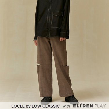 [로우클래식] 19 FALL LOCLE Side slit pants_brown (Z3LCI6PT102)