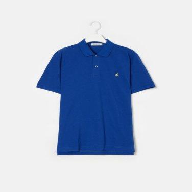 S/S Unisex 로열 블루 솔리드 칼라 티셔츠(BC9242A01N)