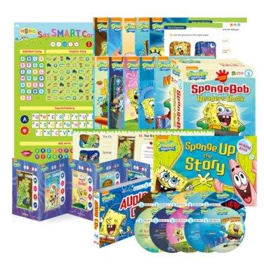 [세이펜BOOK] SpongeBob SquarePants 스폰지밥 리더스북 Level 3 A세트 (Paperback+CD증정)