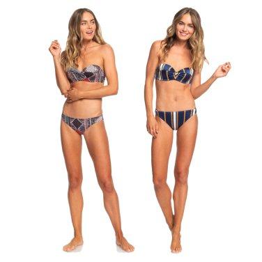 여성 패턴 프린트 비키니 수영복 R921BK123