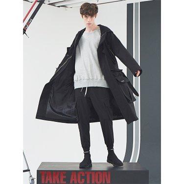 [홀리넘버7] Back Velcro Sweat Shirt_Gray