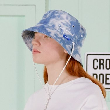 [RLOL] (CH-20331) RLOL DENIM BUCKET HAT LIGHT BLUE