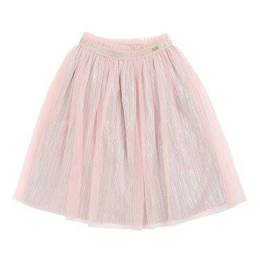 핑크 롱 스커트(T94KKS010 -B1)
