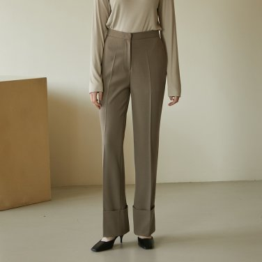 19W TURN-UP PANTS (LIGHT BROWN)