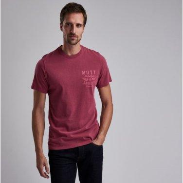 B.Intl X Mutt Tee 인터네셔널 뮤트 티셔츠 레드(BAI1MTS0542RE32)