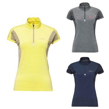 여성용 냉감기능성 반팔 집업 티셔츠 (5217TZ253,5217TZ254,5217TZ255)