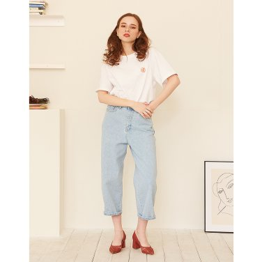 Wide Denim _ Light Blue