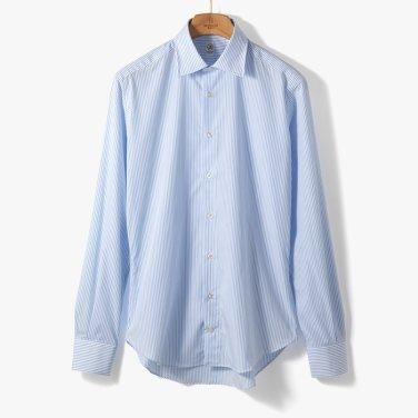 [TBRM]CLASSIC DRESS SHIRT (STRIPE 4) SKY BLUE/TB92M40005A83