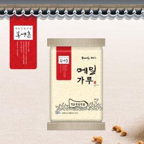 봉평촌 국내산 메밀로 만든 메밀가루(800g*1입) / 무료배송