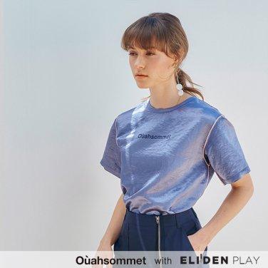 [우아솜메] Ouahsommet Shiny Top_BL (OBFTS011A)