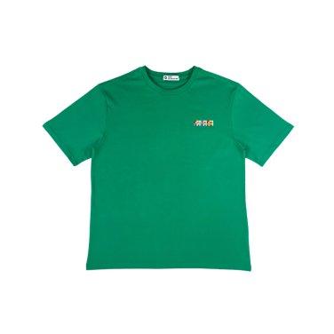 [하이레졸루션] 메인 로고 티셔츠 - GREEN