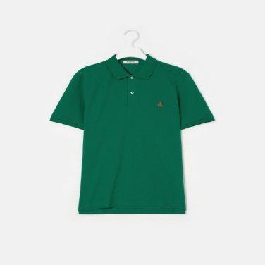 S/S Unisex 그린 솔리드 칼라 티셔츠(BC9242A01M)