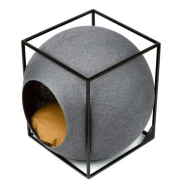 미유파리 더 큐브 메탈 다크그레이