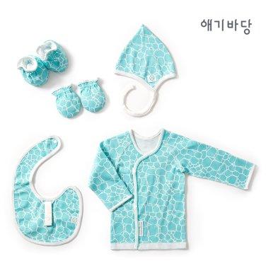 애기바당 출산선물 4종세트[돌담]