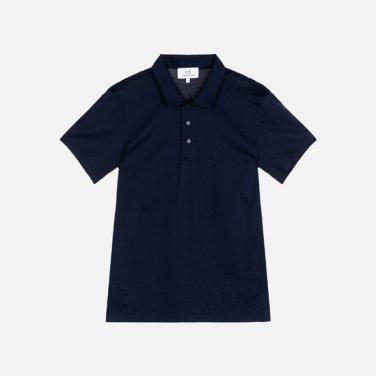 남성 코튼 솔리드 폴로 티셔츠 VMMT1KP008A0B60