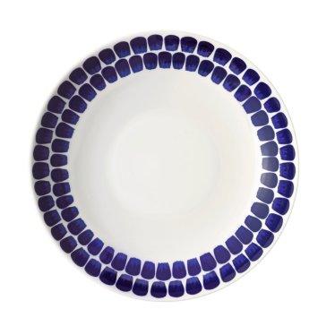 아라비아 뚜오끼오 접시 24cm 암청색