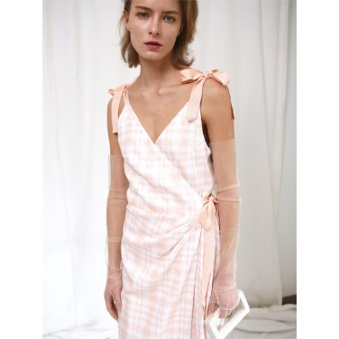 [더애쉴린] FLORA SEQUINED WRAP DRESS