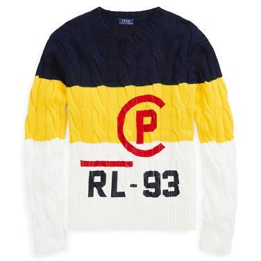 폴로 랄프 로렌 CP-93 케이블 코튼 스웨터(WMPOSWEN6810253B90)