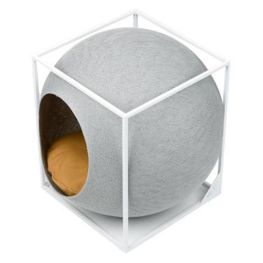 미유파리 더 큐브 메탈 라이트그레이