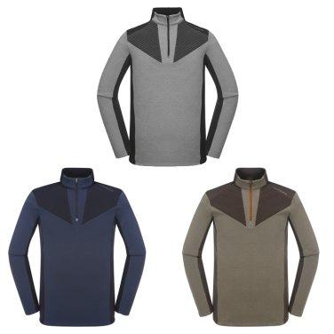 LUCENT (루센트) 남성 짚업 티셔츠   (DMF18211)