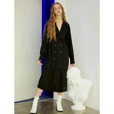 [일루스트리스일루전] BLACK DOUBLE DRESS