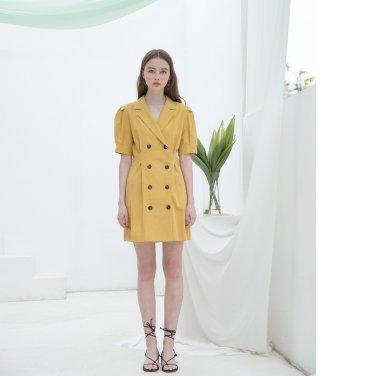 [클렛]Linen Puff Jacket Dress(19CLETSM08E)