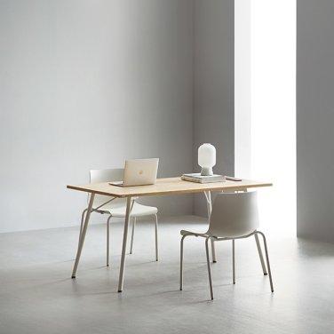 [데스커]DSBD814A 4인 테이블 (콘센트형) (1400*800)