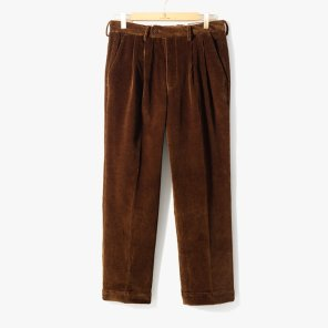 [이스트하버서플러스] COLIN CORDUROY PANTS DARK BROWN/EH92M30002A51