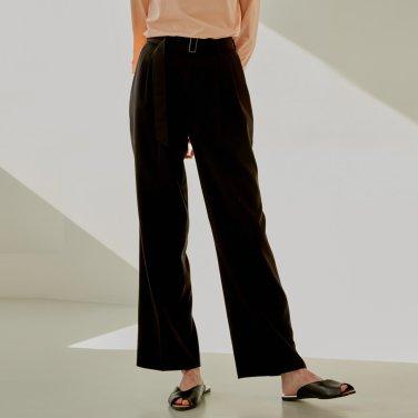 19S DOUBLE TUCK PANTS (BROWN)