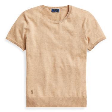 폴로 랄프 로렌 코튼 숏 슬리브 스웨터(WMPOSWENN810016E68)