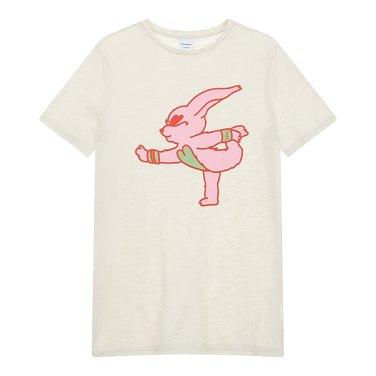 요가 그래픽 반팔 티셔츠 JC19340900