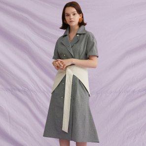Hip Skirt Belt Dress (18SM03HBD)