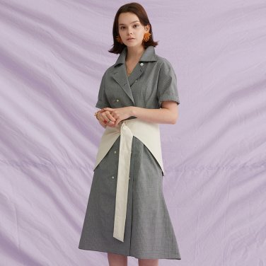 Hip Skirt Belt Dress (18SM03HBD)