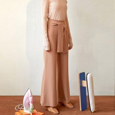 Dew Wide Trouser_Rose Camel (JC19FWPT02RC)