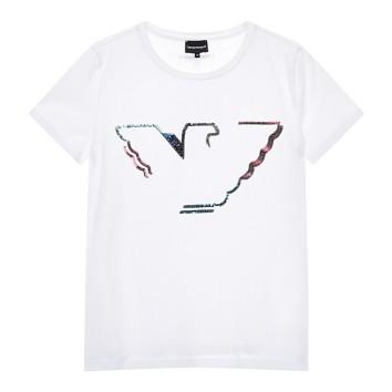 컬러플 플리피 로고 반팔 티셔츠